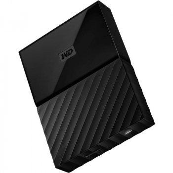 Накопичувач зовнішній HDD 2.5 USB 1.0 TB WD My Passport Black (WDBYNN0010BBK-WESN)