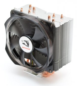 Кулер процесорний Aardwolf Optima 10X (APF-10XOPT-120LED), Intel: 2066/2011/1366/1156/1155/151/1150/775б AMD: FM2/FM2+/FM1/AM3+/AM3/AM2+/AM2/AM4, 154х130х95 мм, 4-pin