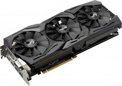 Asus PCI-Ex GeForce GTX 1060 ROG Strix 6GB GDDR5 (192bit) (1506/8008) (DVI, 2 x HDMI, 2 x DisplayPort) (STRIX-GTX1060-6G-GAMING)