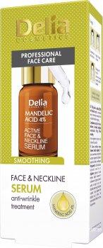 Сыворотка Delia cosmetics Mandelik Acid Разглаживающая для лица шеи и декольте с миндальной кислотой 10 мл (5901350467206)