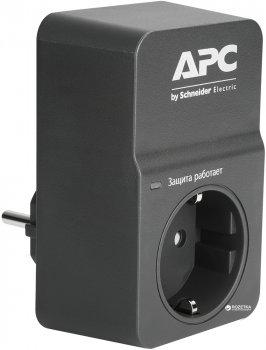 Сетевой фильтр APC Essential SurgeArrest 1 розетка Black (PM1WB-RS)