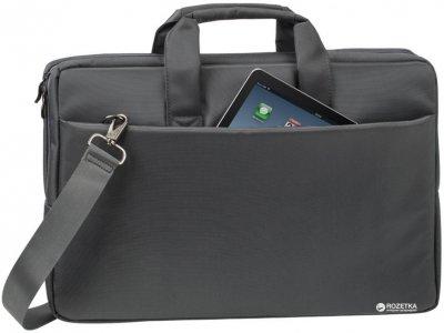 """Сумка для ноутбука RivaCase 8251 17.3"""" Grey (8251 (Grey))"""