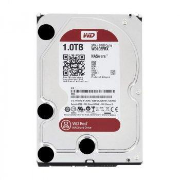 Жорсткий диск Western Digital Red 1TB 5400rpm 64MB WD10EFRX 3.5 SATA III