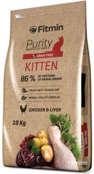 Сухой корм для кошек Fitmin Cat Purity Kitten - 10 кг (8595237013449)
