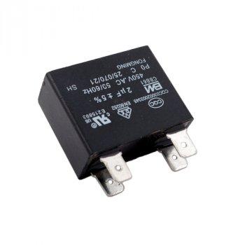 Конденсатор універсальний CBB61 2uF 450V для кондиціонера (4 клеми)