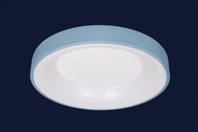 Плоский Стельовий Світильник З Пультом 52Вт Levistella 752L58 Blue Синій