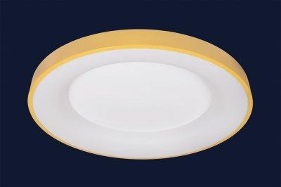 Плоский Стельовий Світильник З Пультом 78Вт Levistella 752L59 Yellow Жовтий