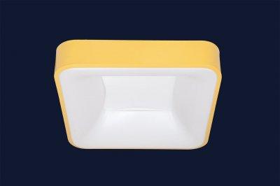 Плоский Стельовий Світильник З Пультом 52Вт Levistella 752L61 Yellow Жовтий