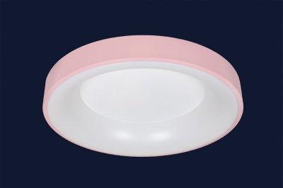 Плоский Стельовий Світильник З Пультом 52Вт Levistella 752L58 Pink Рожевий