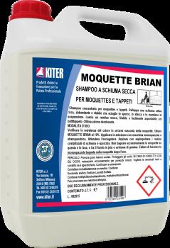 Шампунь для ковров с сухой пеной Kiter Moquette Briane, 5 л