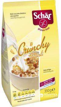 Кранчи Dr. Schar Crunchy Muesli с изюмом 350 г (8008698003107)