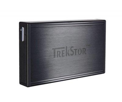 "Жорсткий диск TrekStor DataStation Pocket t.ub 320GB TS25-320TUB 2.5"" USB 2.0 External Black Refurbished"