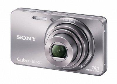 Sony Cyber-Shot DSC-W570 Silver (Англ. меню)