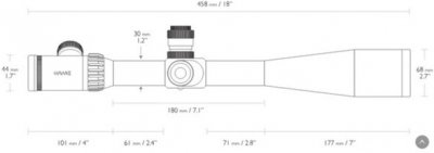 Оптичний приціл Hawke Sidewinder ED 10-50x60 SF TMX IR (925712)