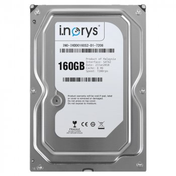 Жорсткий диск i.norys 160GB 7200rpm 8MB INO-IHDD0160S2-D1-7208 3.5 SATAII