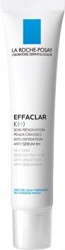 Средство восстанавливающее La Roche-Posay Effaclar К+ для комбинированной и склонной к жирности кожи лица 40 мл (3337875613491)