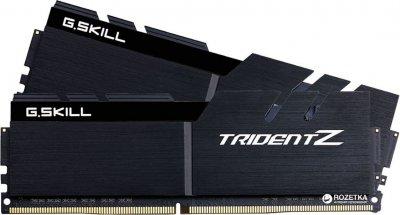 Оперативная память G.Skill DDR4-4000 32768MB PC4-32000 (Kit of 2x16384) Trident Z Black (F4-4000C19D-32GTZKK)