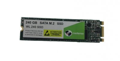 Накопичувач SSD 240GB Mediamax M. 2 2280 SATAIII 3D NAND TLC (WL 240 SSD) - Refubrished