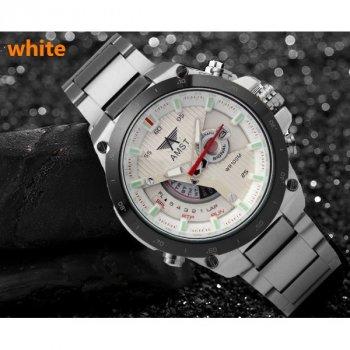 Часы мужские наручные AMST 3008 Platinum white