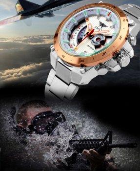 Часы мужские наручные AMST 3008 Rose Gold