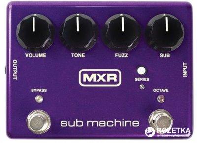 Педаль эффектов Dunlop M225 MXR Sub Machine Octave Fuzz