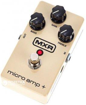 Педаль эффектов Dunlop M233 MXR Micro AMP+ Standard