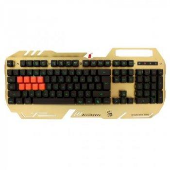 Клавіатура A4tech Bloody B418 USB Golden