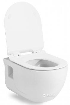 Унітаз підвісний VOLLE Altea Rimless 13-64-267 + сидіння Slim Soft Close