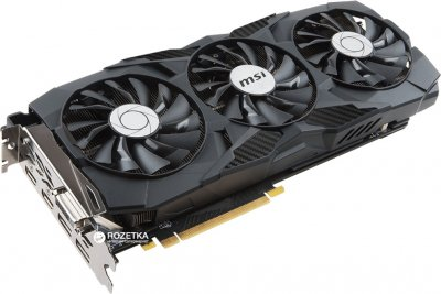 MSI PCI-Ex GeForce GTX 1080 Ti Duke 11GB GDDR5X (352bit) (1480/11016) (DVI, 2 x HDMI, 2 x DisplayPort) (GTX 1080 Ti DUKE)