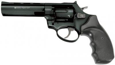 """Револьвер під патрон Флобера EKOL VIPER 4,5"""" чорний"""