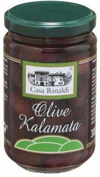 Оливки с косточкой Casa Rinaldi Каламата 300 г (8006165390552)