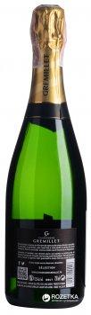 Вино игристое Maison Bouey Gremillet Selection белое брют 0.75 л 12.5% (3414330000017)