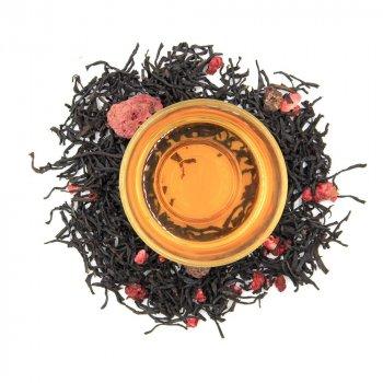 Черный ароматизированный чай Teahouse Малиновый слон, 250 гр