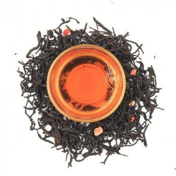 Черный ароматизированный чай Teahouse Клубничный жираф, 250 гр