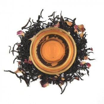 Черный ароматизированный чай Teahouse Розовый носорог, 250 гр