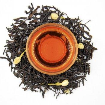 Черный ароматизированный чай Teahouse Жасминовая пантера, 250 гр