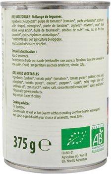 Рататуй консервированный La Bio Idea органический 375 г (8718976016896)