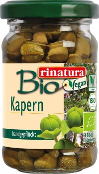 Каперсы Rinatura органические 107 мл (4013200259327)
