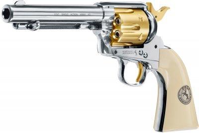 Пневматичний пістолет Umarex Colt Single Action Army 45 Gold (5.8353)