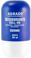 Шариковый дезодорант Agrado Roll-On Deodorant Dermo Protective 50 мл (8433295052508)
