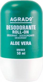 Шариковый дезодорант Agrado Roll-On Deodorant Aloe Vera с алоэ вера 50 мл (8433295052522)