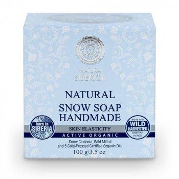 Мыло Снежное мыло ручной работы Для повышения эластичности кожи Natura Siberica 100 гр (4744183011212)
