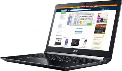 Ноутбук Acer Aspire 7 A715-72G (NH.GXCEU.043) Obsidian Black