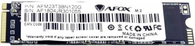 AFOX 120GB NVMe M.2 2280 PCIe 3.0 x2 TLC (AFM23T3BN120G)