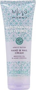 Крем для рук і нігтів Mades Cosmetics Таємниці Середземномор'я ніжні пальчики + міцні нігті 100 мл (8714462095093)