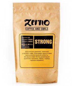 Свіжообсмажена кави в зернах Strong (30% арабіки, 70% робусти)