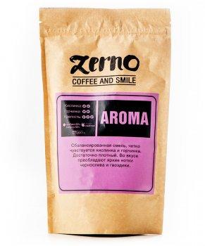 Свіжообсмажена кави в зернах Aroma (50% арабіки, 50% робусти)
