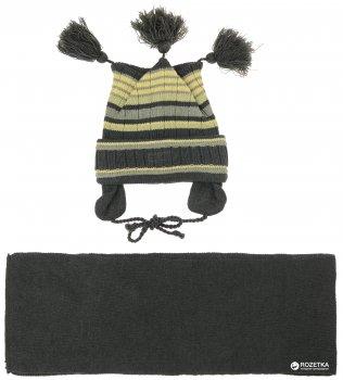 Зимняя шапка-ушанка + шарф Flash 17B923-1120-606 48 см (2200000054890)