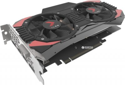 PNY PCI-Ex GeForce GTX 1060 XLR8 Gaming OC 6GB GDDR5 (192bit) (1582/8000) (DVI, HDMI, 3 x DisplayPort) (GTX 1060 XLR8)