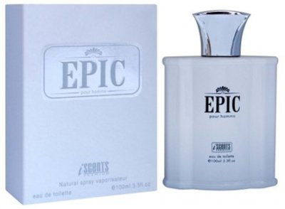 Туалетная вода для мужчин I Scents Epic (Silver Water Creed By Creed) 100 мл (8906008724431)